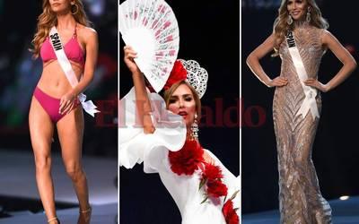 716caee26cc Miss España genera controversia al desfilar en traje de baño - El Sol de  Sinaloa