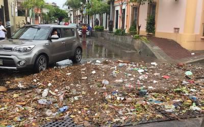 Mazatlan Historic Center Flooding